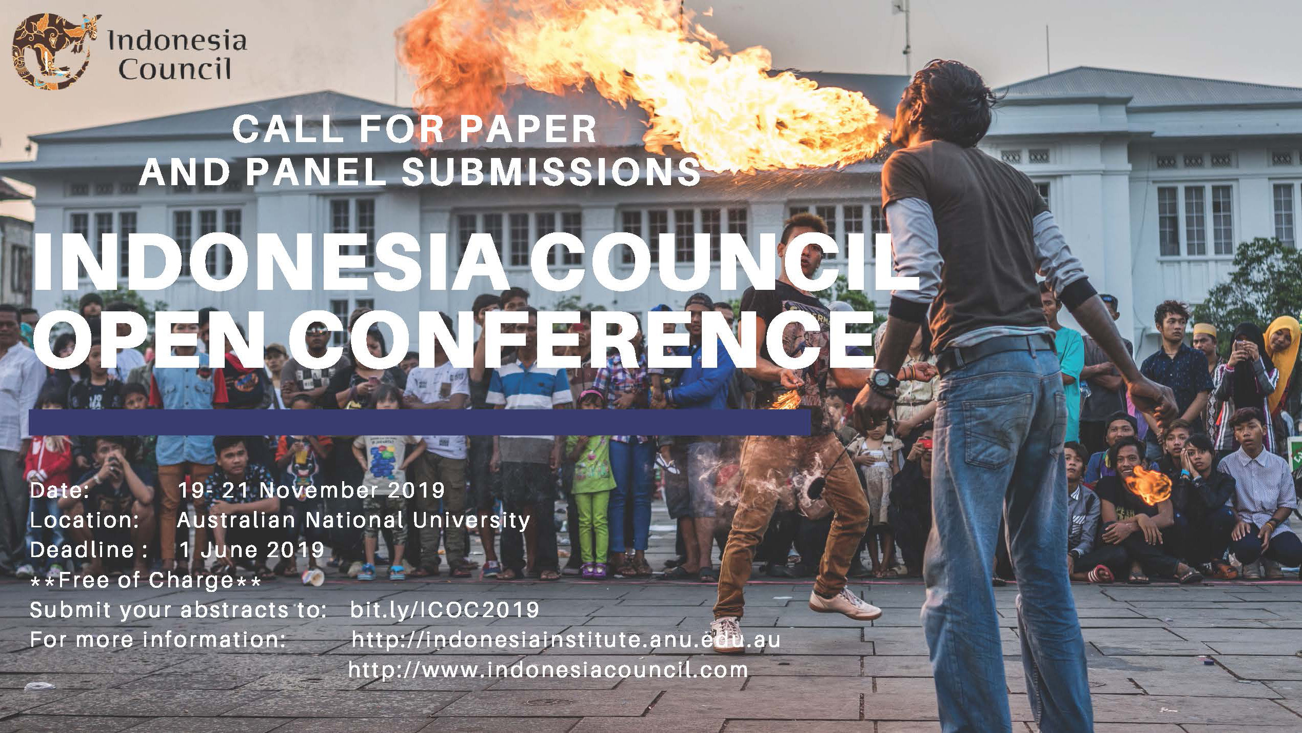 Indonesia Council Open Conference: Call for Panels and Papers